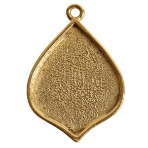 Grande Pendant Marrakesh Single Loop<br>Antique Gold