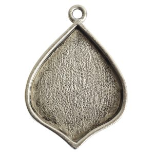 Grande Pendant Marrakesh Single LoopAntique Silver