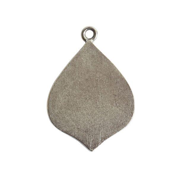Grande Pendant Marrakesh Single LoopAntique Silver