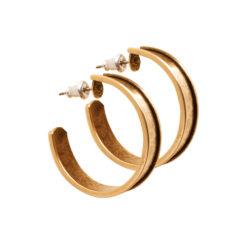 Post Channel Earrings