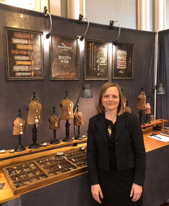 Becky Nunn To Bead True Blue Tradeshow