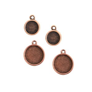 Buy & Try Findings Itsy & Mini Link Single Loop Circle Combo PackAntique Copper