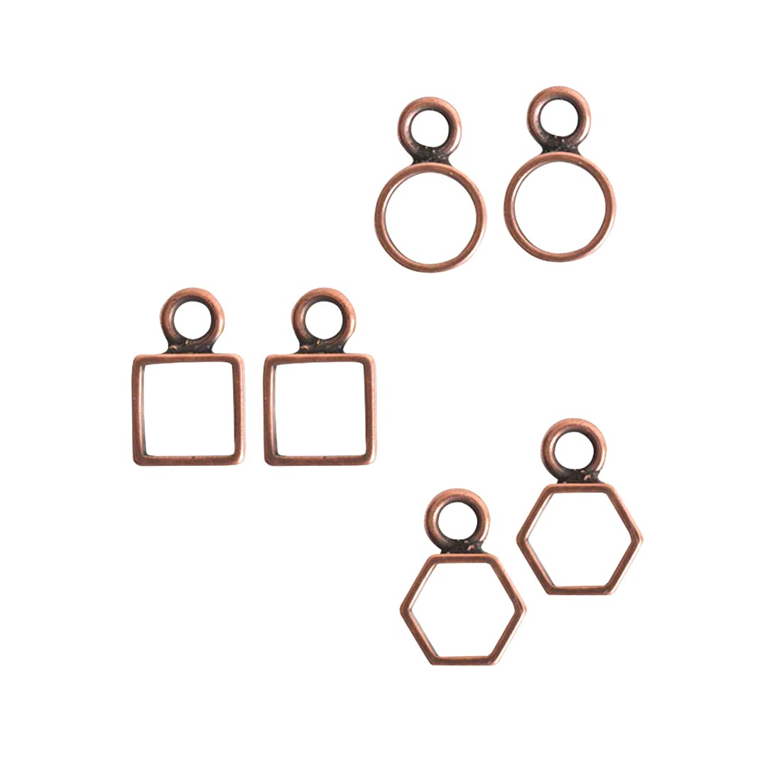 Buy & Try Findings Open Frame Itsy Combo PackAntique Copper