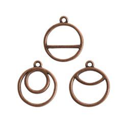 Buy & Try Findings Open Pend Split Combo PackAntique Copper
