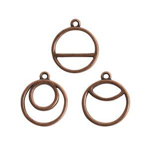 Buy & Try Findings Open Pend Split Combo PackAntique Copper
