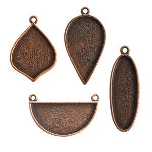 Buy & Try Findings Grande Pendant Combo PackAntique Copper