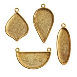 Buy & Try Findings Grande Pendant Combo PackAntique Gold