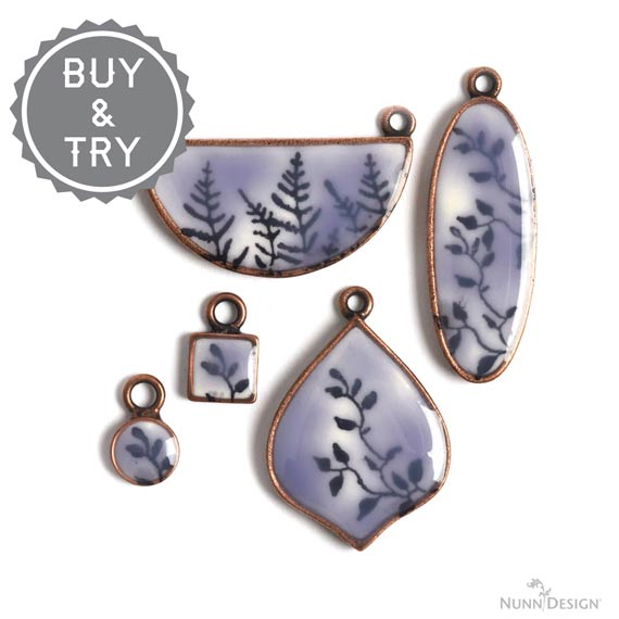 How to Rubber Stamp on Crystal Clay and Apply Colorized Resin