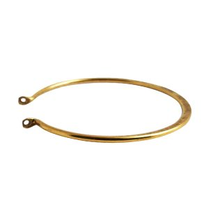 Wire Frame Open Circle GrandeAntique Gold