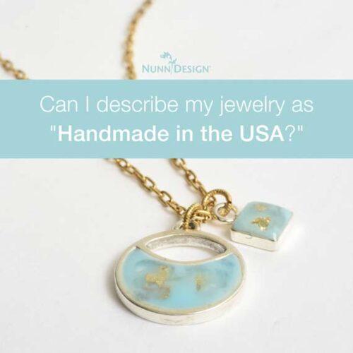 Can I describe as handmade in usa