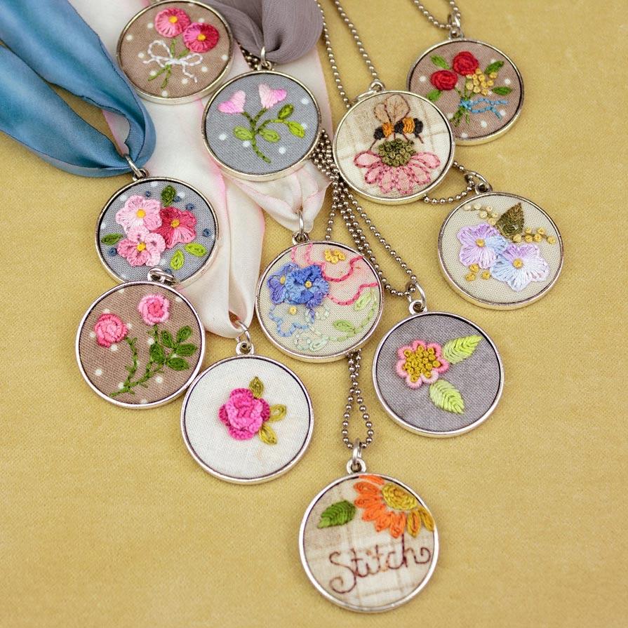 Crabhill Tree Studio Embroidery Kits