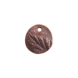 Charm Small Berry LeafAntique Copper