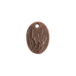 Charm Small Meadow GrassAntique Copper