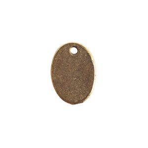 Charm Small Meadow GrassAntique Gold