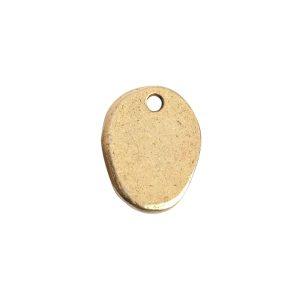 Charm Small Prairie PodAntique Gold