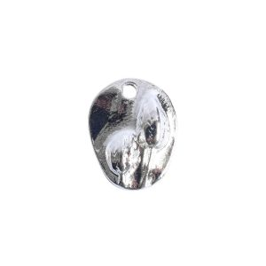 Charm Small Prairie PodSterling Silver Plate