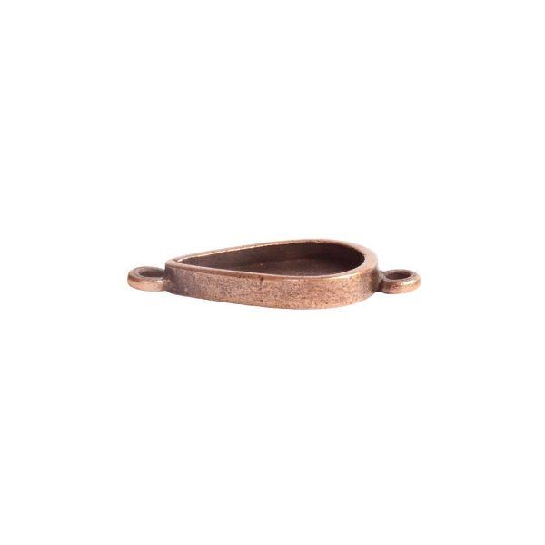 Itsy Link Double Loop DropAntique Copper
