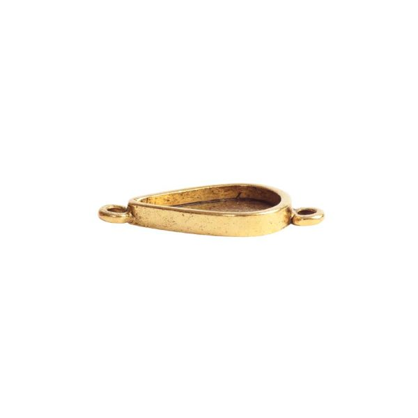 Itsy Link Double Loop DropAntique Gold