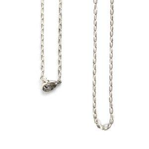 Necklace Small Fine Cable Chain 18 InchAntique Silver