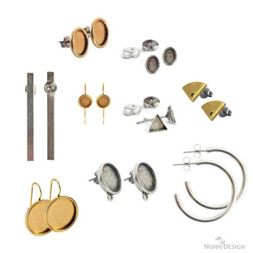Earring Blanks for Jewelry Making